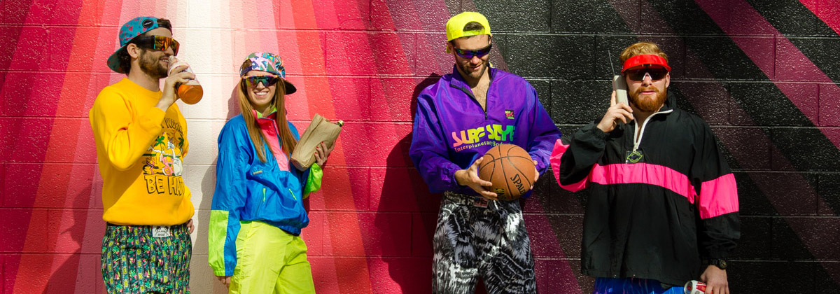 90-es évek divatja retro