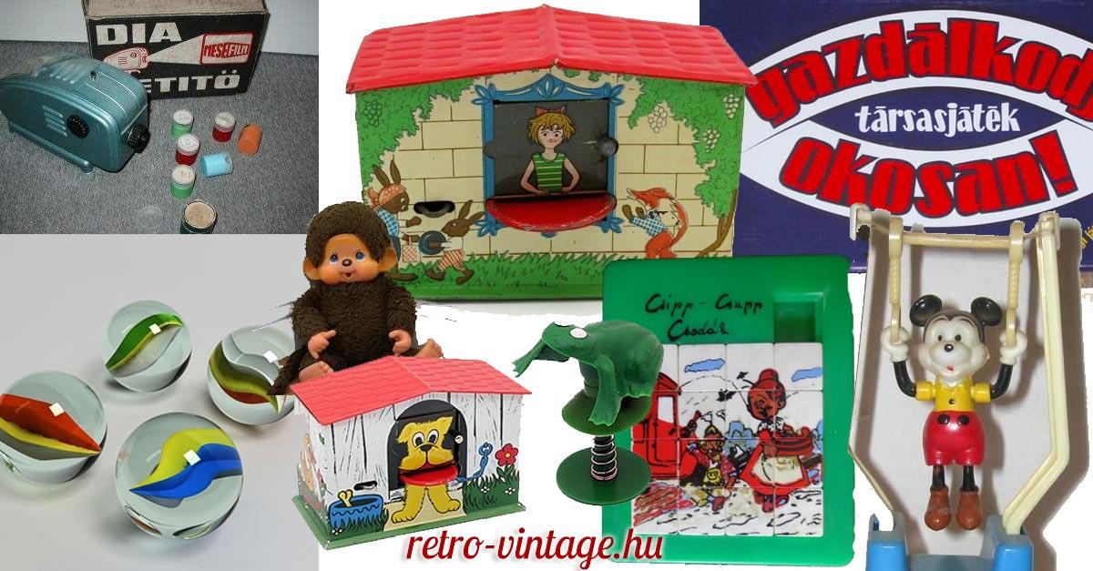 Retro játékok - antikaotika
