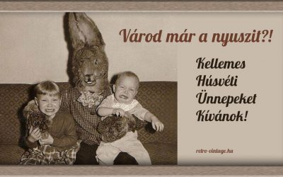 Retro húsvét – Segítség! Ellopták a tojásaimat!