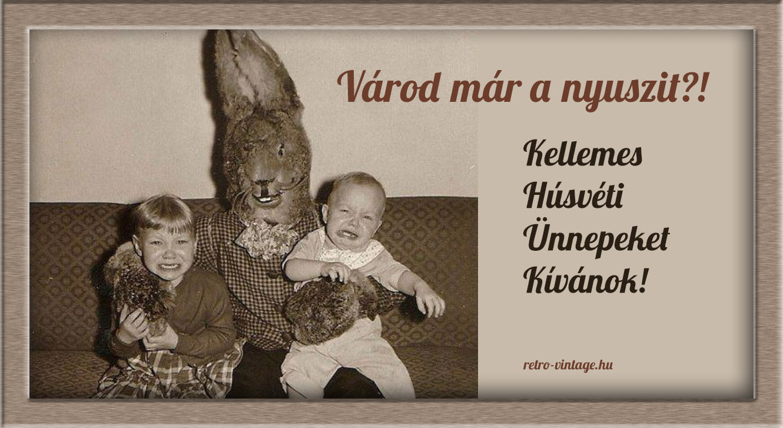 Retro húsvét az 1980-as években