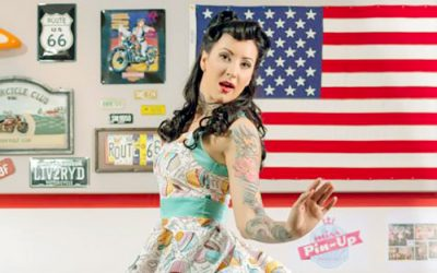 Pink Code: pin-up, rockabilly, retro chic, vintage